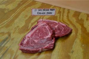 21 Days Prime Aged Bone-In Rib Eye Steak