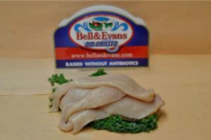 Bell and Evans Thin Sliced Chicken Cutlets