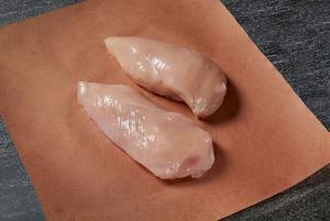 Thin sliced chicken cutlet