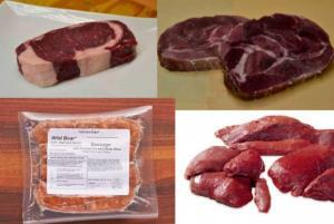 Wild Game Meat Assortment