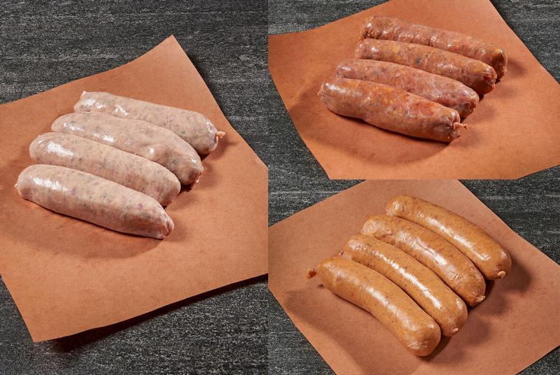 Wild game sausages