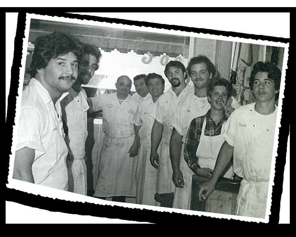 Ottomanelli butcher vintage 1977