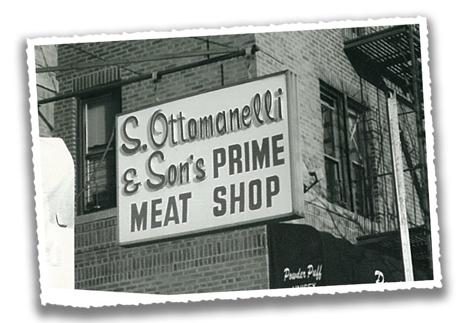 S. Ottomanelli & Sons vintage sign