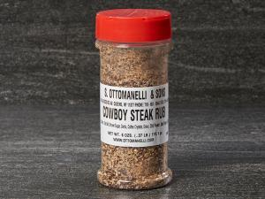 Cowboy steak rub