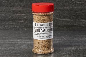 Ottomanelli italian garlic pepper seasoning