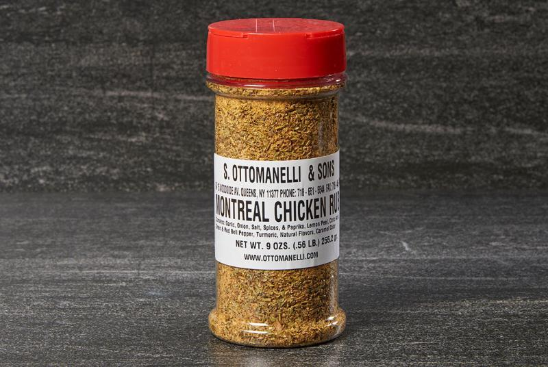 Ottomanelli Montreal Chicken Rub Seasoning